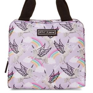 Betsey Johnson Bags - Betsey Johnson Unicorns & Rainbows Insulated Tote